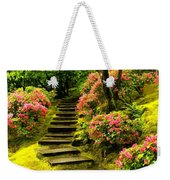 Flower Walk Weekender Tote Bag