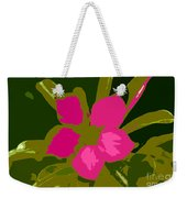 Flower Work Number 17 Weekender Tote Bag