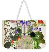 Flowerbomb Notes 3 - By Diana Van  Weekender Tote Bag