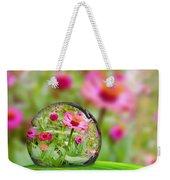 Flowerdrop Weekender Tote Bag