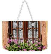 Flowered Window # II Weekender Tote Bag