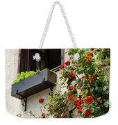 Flowered Window Weekender Tote Bag