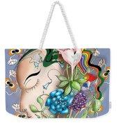 Flowerhead Weekender Tote Bag