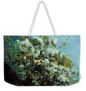 Flowering Branches And Flowers Weekender Tote Bag