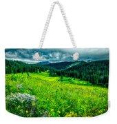 Flowering Colorado Mountain Meadow Weekender Tote Bag