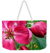 Flowering Crab Apple Weekender Tote Bag