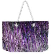 Flowering Grass Of The Future Weekender Tote Bag