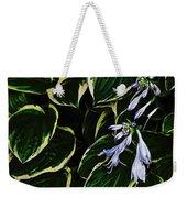 Flowering Hosta Weekender Tote Bag