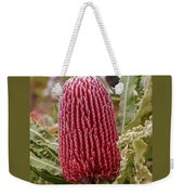 Flowering In Red Weekender Tote Bag