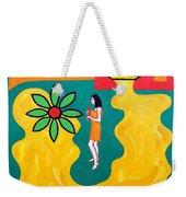 Flowering Melody Weekender Tote Bag