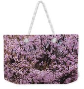 Flowering Pink In Spring Weekender Tote Bag