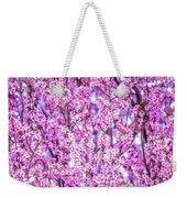 Flowering Plum Blossoms. Weekender Tote Bag