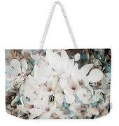 Flowering Star Magnolia Weekender Tote Bag