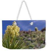 Flowering Yucca Weekender Tote Bag