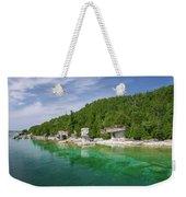 Flowerpot Island - Georgian Bay, Ontario Weekender Tote Bag