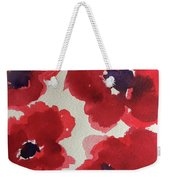 Poppy Happiness Weekender Tote Bag