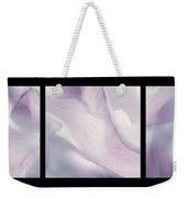 Flowers Abstract Triptych Weekender Tote Bag