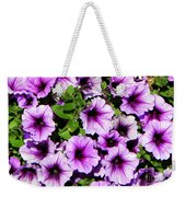 Flowers Alaska July  Weekender Tote Bag