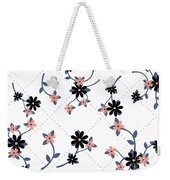 Flowers All Around Weekender Tote Bag