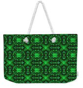 Flowers And Bees Abstract Weekender Tote Bag