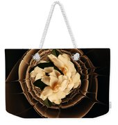 Flowers And Chocolate Weekender Tote Bag