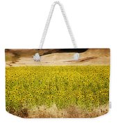 Flowers And Horses Near Setinil Spain Weekender Tote Bag