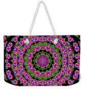 Flowers And More Floral Dancing A Power Peace Dance Weekender Tote Bag