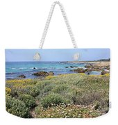Flowers And Surf Weekender Tote Bag