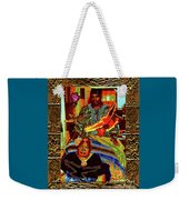 Flowers And Wings For Her Tears And Years Weekender Tote Bag