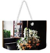 Flowers At Chenonceau Weekender Tote Bag