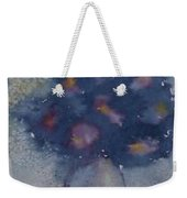 Flowers At Night Original Abstract Gothic Surreal Art Weekender Tote Bag