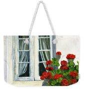 Flowers At The Window Weekender Tote Bag
