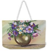 Flowers,still Life Weekender Tote Bag