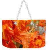 Flowers Azalea Garden Orange Azalea Flowers 1 Giclee Prints Baslee Troutman Weekender Tote Bag