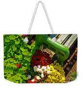 Flowers By Green Bench Weekender Tote Bag