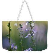 Flowers By The Pond Weekender Tote Bag