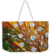 Flowers Field Weekender Tote Bag