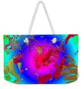 Flowers Flux Weekender Tote Bag