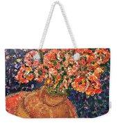 Flowers For Mary Weekender Tote Bag