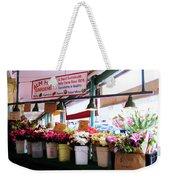 Flowers For Sale Weekender Tote Bag