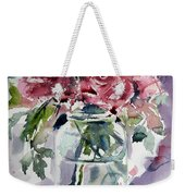 Flowers From The Garden Weekender Tote Bag