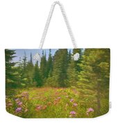 Flowers In A Mountain Glade Weekender Tote Bag