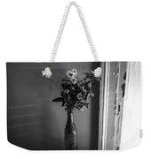 Flowers In A Peculiar Vase Weekender Tote Bag