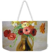 Flowers In A Pitcher -11 Yrs Old Weekender Tote Bag