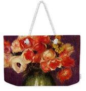 Flowers In A Vase 1901 Weekender Tote Bag