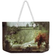 Flowers In A Window Weekender Tote Bag