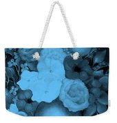 Flowers In Blue Weekender Tote Bag