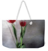 Flowers In Light Weekender Tote Bag