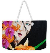 Flowers In My Garden Weekender Tote Bag