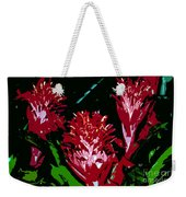 Flowers In Red Weekender Tote Bag